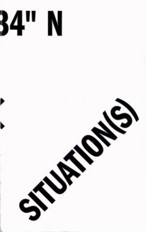 Situation(s) [48° 47' 34'' n/2° 23' 14'' E . Catalogue d'exposition - Musée d'art contemporain de Val-de-Marne - 9782916324692 -